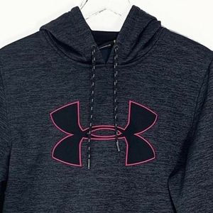 Under Armour Womens Small Sweatshirt Hoodie Gray